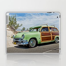 Woodie on the Beach Laptop & iPad Skin