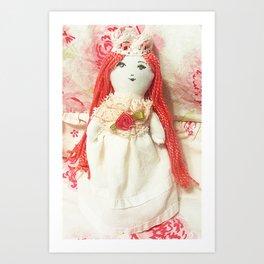 Princess Rosey Art Print