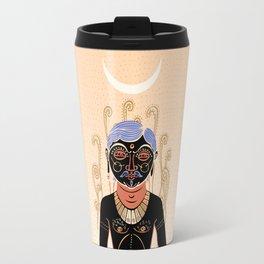 Indian Man Travel Mug
