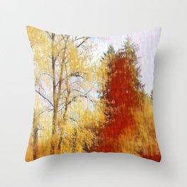 Autumn's Fury Throw Pillow
