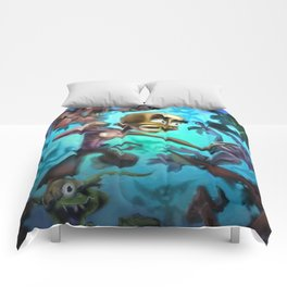 Fighting Goblins Comforters