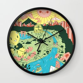 Japan Day Wall Clock