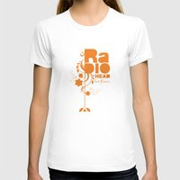 "radiohead T-shirts featuring Radiohead ""Last flowers"" Song / Orange version by LilaVert"