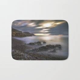 Bracelet Bay and Mumbles lighthouse Bath Mat