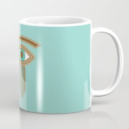 Eye of Horus Ancient Egyptian Amulet Coffee Mug