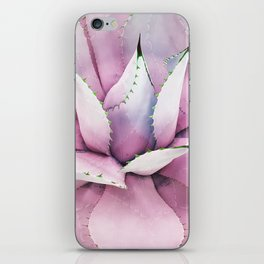 Pink Succulent iPhone Skin