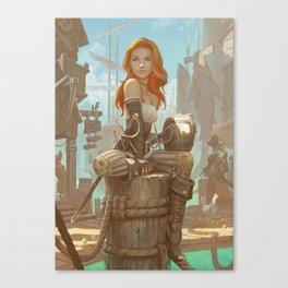 Scarlet Rogue Canvas Print