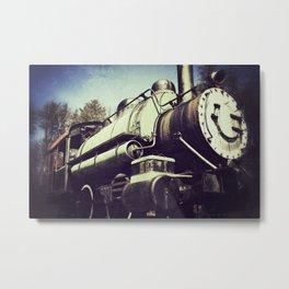 Little Engine Metal Print