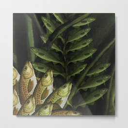 Cod Lily Metal Print