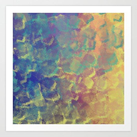 Watercolor Splash #4 #art #society6 Art Print