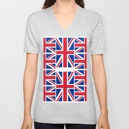 British Flag Unisex V-Neck
