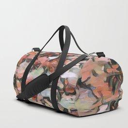 Abstract Confetti Landscape Peach Duffle Bag