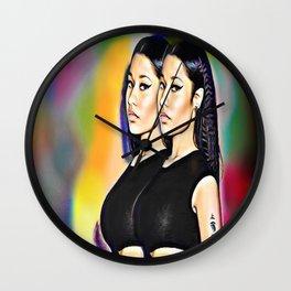 Onika Tanya Maraj Wall Clock