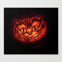 Cat pumpkin Canvas Print