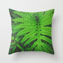 Nearby Jungle Throw Pillow