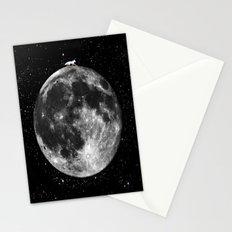 FoX IN THE MOON Stationery Cards