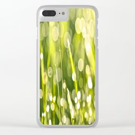 One Summer Morning Clear iPhone Case