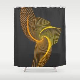 echo map latinoamerica Shower Curtain