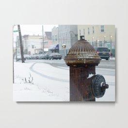 Frozen Blvd Metal Print