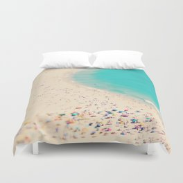beach love III - Nazare Duvet Cover