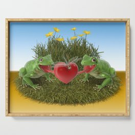 Froggy Love Serving Tray