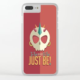 Hamlet by Shakespeare Clear iPhone Case