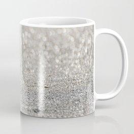 Sun Reflected in a Shell on a Sparkling Sandy Beach Coffee Mug