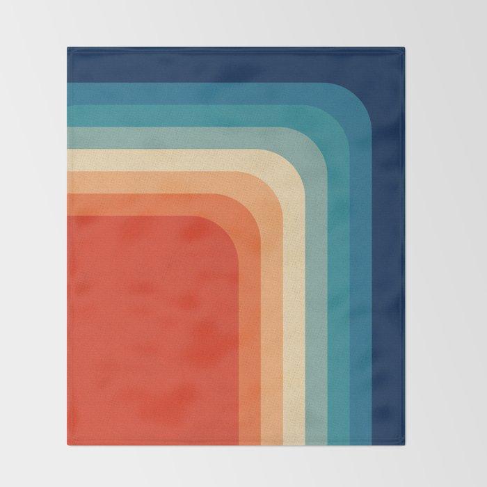 Retro 70s Color Palette III Decke