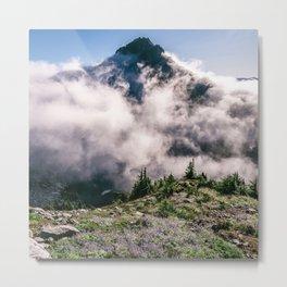 Sperry Peak View North Cascades National Park Washington Metal Print