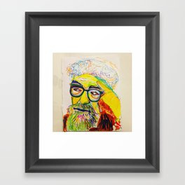 Heschel Framed Art Print