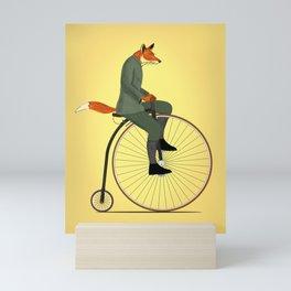 Mr Sebastian Fox Mini Art Print