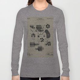 Revolving Fire Arm-1881 Long Sleeve T-shirt