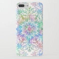 Nature Mandala in Rainbow Hues iPhone 7 Plus Slim Case