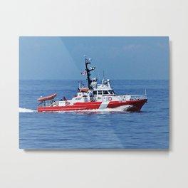 Patrol Boat Metal Print