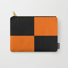 Big mosaic orange black Carry-All Pouch