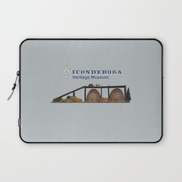 Horicon Iron Charcoal Kilns Model Laptop Sleeve