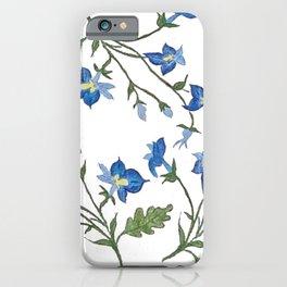 Lobelia iPhone Case