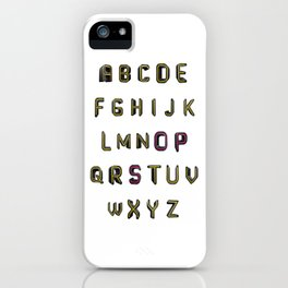 Alphabet - OPS! iPhone Case
