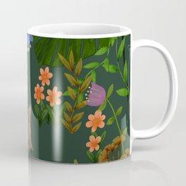 Little Bunny Rabbit on tropical adventure Coffee Mug