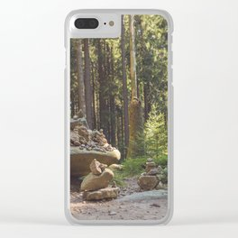 Stacks on Stacks Clear iPhone Case