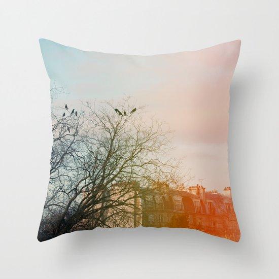 City Girls Throw Pillow