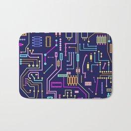 Circuits Bath Mat