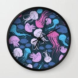 Underwater Pattern #3 Wall Clock