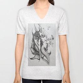 Mermaid Unisex V-Neck