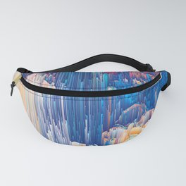 Glitches in the Clouds Fanny Pack