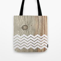 woody Tote Bags featuring WOODY by Monika Strigel®