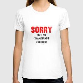 No shakehands T-shirt
