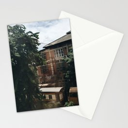Old trains in Thailand Stationery Cards