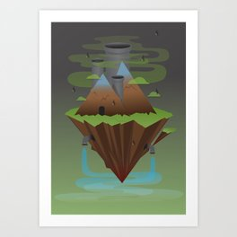 Save the Planet Art Print