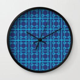 Squares PMS 466C Wall Clock